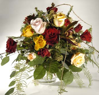 Bouquet of roses: deliverable worldwide