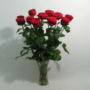 Bouquet of red roses: deliverable in Greater Bern Area (+parcel in Switzerland)